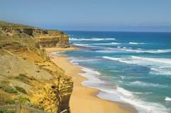 Grande océan route de l'Australie, Victoria Images libres de droits