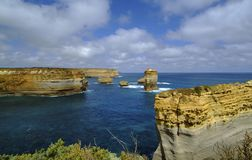 Grande océan route de l'Australie, Victoria Photographie stock libre de droits