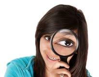 Grande occhio Fotografia Stock