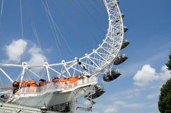 Grande occhio di Londra fotografia stock libera da diritti