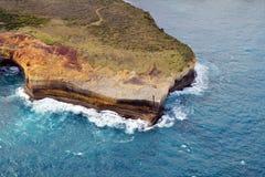 Grande oceano estrada de Austrália, VIC, foto de stock royalty free