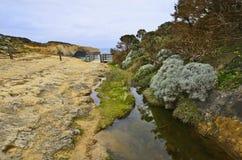 Grande oceano strada dell'Australia, VIC, Immagini Stock Libere da Diritti