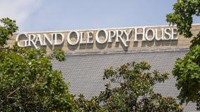 Grande Ole Opry House a Nashville, Tennessee Fotografia Stock Libera da Diritti