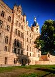 Grande ombra sulla parete del castello Fotografia Stock