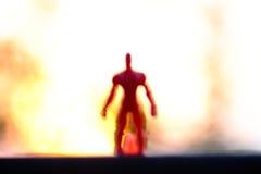 Grande ombra umana Immagine Stock Libera da Diritti