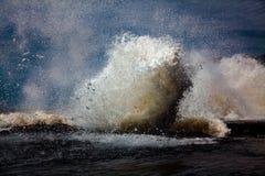 Grande onda Fotografia Stock