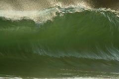 Grande onda verde Imagem de Stock Royalty Free