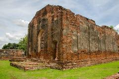 A grande opinião do palácio de Narai Foto de Stock Royalty Free
