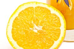 Grande orange Photos stock