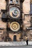 Grande orologio Immagine Stock