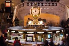 Grande orologio centrale New York City della stazione Fotografia Stock Libera da Diritti