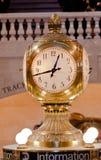 Grande orologio centrale New York City della stazione Fotografia Stock