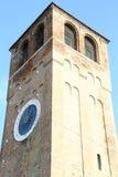 Grande orologio con i numeri romani Fotografie Stock Libere da Diritti