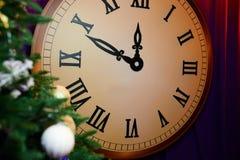 Grande orologio decorativo immagini stock libere da diritti