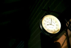Grande orologio della stazione centrale Immagini Stock
