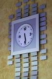 Grande orologio di parete Fotografia Stock