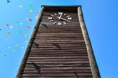 Grande orologio di Thaiart Fotografia Stock