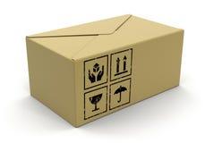 Grande pacchetto (percorso di ritaglio incluso) Immagini Stock