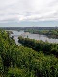 Grande paesaggio del fiume nel Cile fotografie stock libere da diritti