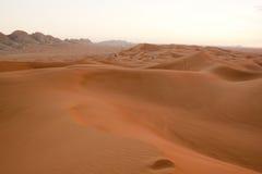 Grande paesaggio delle dune di sabbia Immagini Stock