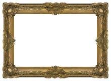 Grande pagina 002 del vecchio oro Fotografia Stock Libera da Diritti