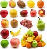 Grande pagina della frutta Immagini Stock Libere da Diritti
