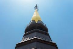 Grande pagoda chez Doi Inthanon, Chiang Mai Images stock