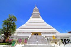 Grande pagoda dans le temple de Paknum, temple public Photos libres de droits