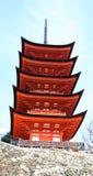 Grande pagoda dans le tombeau d'héritage image libre de droits