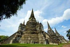 Grande pagoda della Tailandia Fotografie Stock Libere da Diritti