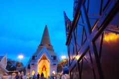 Grande pagoda Nakornpathom Fotografie Stock