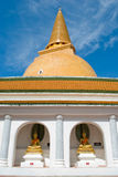 Grande pagoda tailandese, Tailandia Fotografia Stock