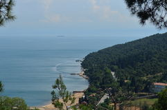 Grande paisagem da ilha foto de stock royalty free