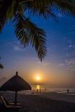 Grande paisagem do nascer do sol tropical Imagens de Stock