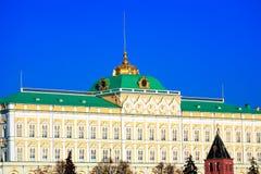 Grande palácio de Kremlin, Moscovo foto de stock royalty free
