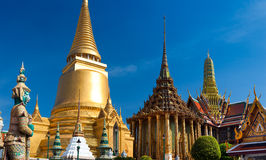 Grande palazzo a Bangkok Fotografia Stock