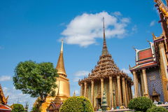 Grande palazzo a Bangkok, Tailandia Fotografie Stock Libere da Diritti