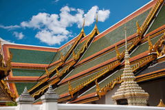 Grande palazzo a Bangkok, Tailandia Fotografia Stock Libera da Diritti