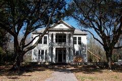 Grande palazzo di stile della piantagione Fotografia Stock
