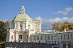 Grande palazzo in Oranienbaum, Russia Immagini Stock Libere da Diritti