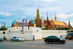 Grande palazzo per Bangkok, Tailandia Fotografia Stock Libera da Diritti