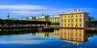Grande palazzo Peter 1 in Russia. Immagine Stock Libera da Diritti