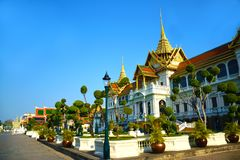 Grande palazzo reale in Tailandia 0393 Fotografia Stock