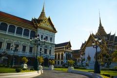 Grande palazzo reale in Tailandia immagini stock libere da diritti