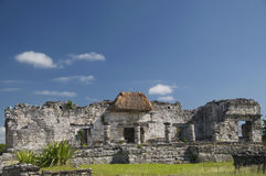 Grande palazzo a Tulum fotografie stock