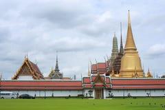 Grande palazzo, Wat Prakaew, colpo Kok Fotografia Stock Libera da Diritti