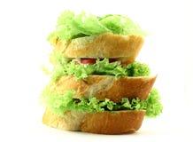 Grande panino Immagine Stock Libera da Diritti