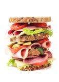 Grande panino di fandonie Immagine Stock Libera da Diritti