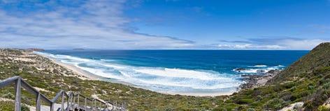Grande panorama australiano da praia Foto de Stock Royalty Free