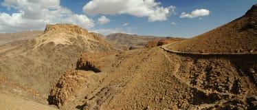 Grande panorama della montagna Fotografia Stock